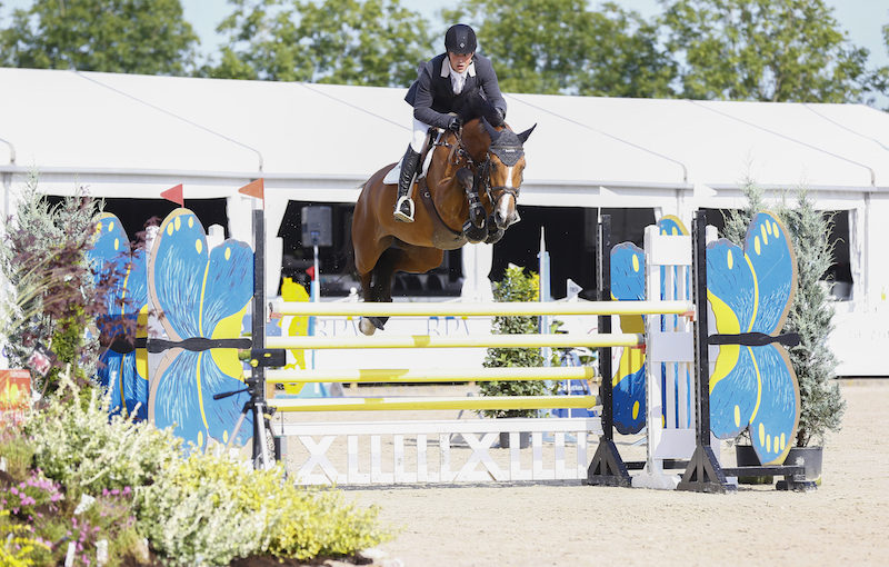 Conor Drain Wins in Jumping de Achterhoek