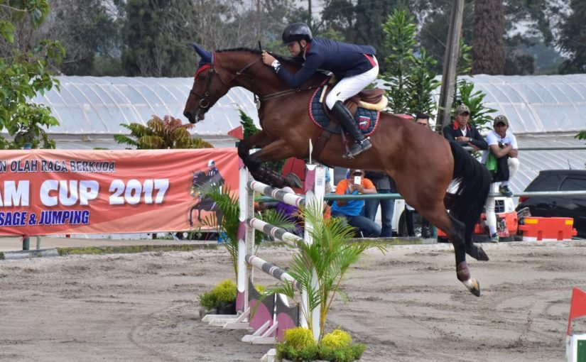 Ferry Wahyu Hadiyanto Closes out the Aragon and Cavalry Cup 2019