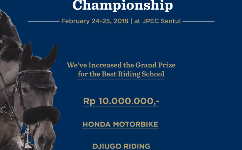 Djiugo Riding School Championship 2017-2018 Prize Increased!