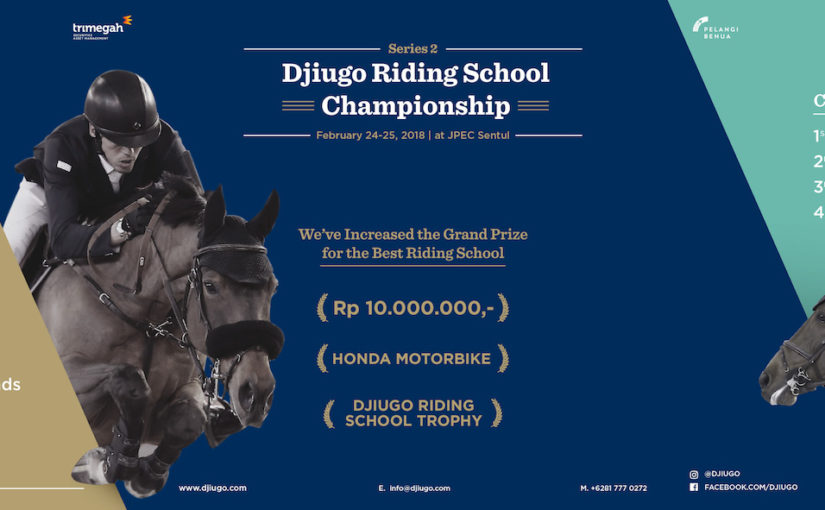 Three Weeks to Go! Djiugo Riding School Championship!
