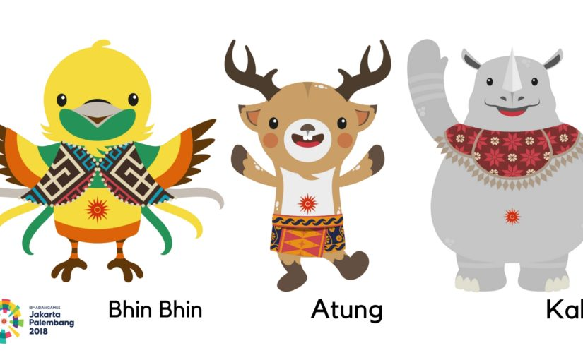 Road To Asian Games  Getting To Know The Mascots