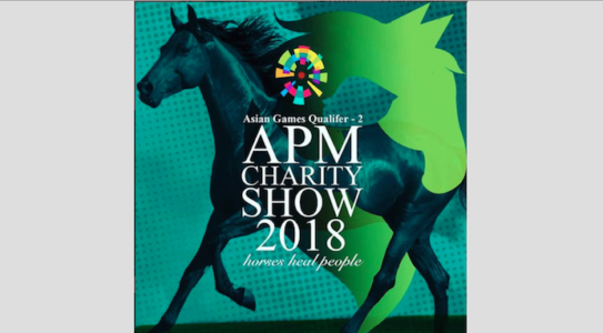APM Charity Show Starting Orders for Friday