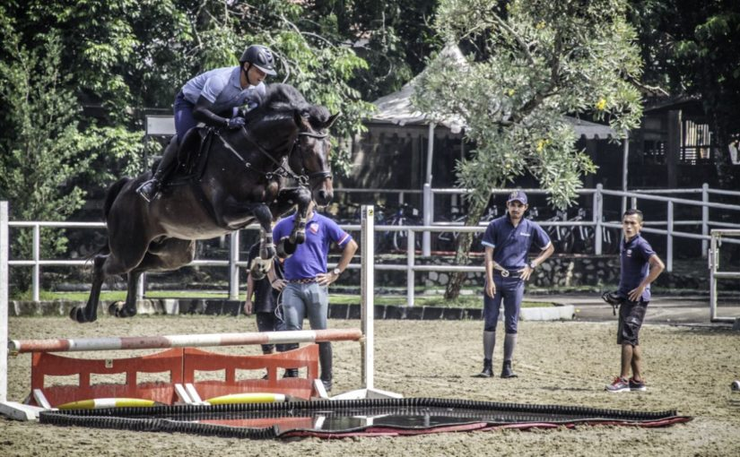 RoadtoAsianGames2018: Jumping and Eventing Training