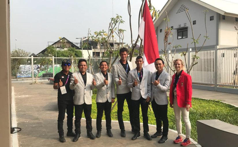Asian Games 2018: Indonesian Eventing Report (Joss Gray)