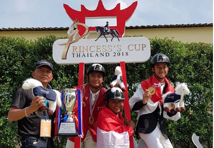Team Indonesia Juniors wins the CSIJ-B 2018
